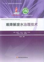 """难降解废水治理技术-第二产业与循环经济丛书(""""十一五""""国家重点图书出版规划项目)"""