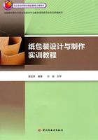 纸包装设计与制作实训教程——全国高职高专印刷与包装类专业教学指导委员会规划统编教材